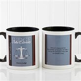 Legal Ease Personalized Legal Quote Mug 11oz.- Black - 10218-B