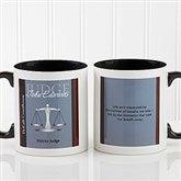 Legal Ease Personalized Legal Quote Mug 11oz.- Black - 10218-B
