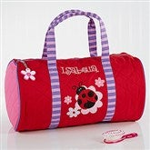 Ladybug Embroidered Duffel Bag by Stephen Joseph - 10221-B
