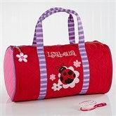 Ladybug Embroidered Duffel Bag by Stephen Joseph - 10221-B