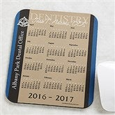Medical Professions Personalized Calendar Mouse Pad - 10222