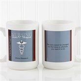 Medical Professions Personalized Coffee Mug- 15 oz.- White - 10223-L