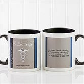 Medical Professions Personalized Coffee Mug 11oz.- Black - 10223-B
