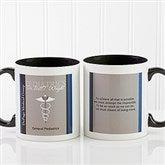Medical Professions Personalized Coffee Mug 11oz.- Black - 10223-B