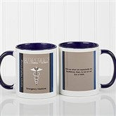 Medical Professions Personalized Coffee Mug- 11oz.- Blue - 10223-BL