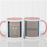 Medical Professions Personalized Coffee Mug- 11oz.- Pink - 10223-P