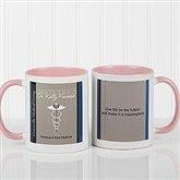 Medical Professions Personalized Coffee Mug- 11oz.- Pink - 10223-P