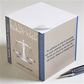 Legal Ease Inspiring Quotes Paper Note Cube - 10225