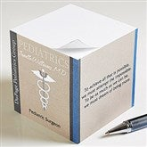 Medical Professions Inspiring Quotes Paper Note Cube - 10226