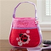 Ladybug Embroidered Purse - 10227