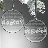 Family Circle Personalized Ornament