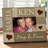 Loving Hearts Personalized Photo Frame - 10243