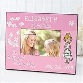 Our Flower Girl Personalized Character Frame - 10252