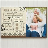 Our Life Together Personalized Photo Canvas Art Print - 16