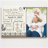 Our Life Together Personalized Photo Canvas Art - 10255