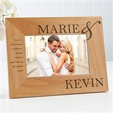 The Perfect Couple Personalized Photo Frame- 4 x 6 - 10317-S
