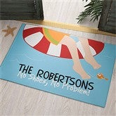 Summer Fun Personalized Doormat - 10343