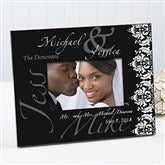 The Wedding Couple Personalized Picture Frame - 10360