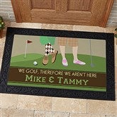 Gone Golfing Personalized Doormat- 20x35 - 10367-M