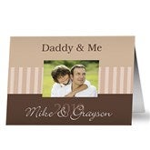 Daddy & Me Personalized Greeting Card - 10374