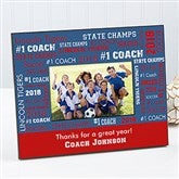 All-Star Coach Personalized Frame - 10377