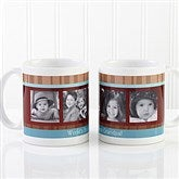 Photo Message Personalized Coffee Mug 11 oz.- White - 10381-S