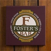 Classic Tavern© Personalized Bar Art - 10387