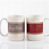 Inspiring Lawyer Personalized Coffee Mug 15 oz.- White - 10411-L