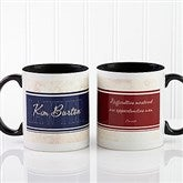 Inspiring Lawyer Personalized Coffee Mug 11oz.- Black - 10411-B