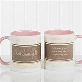 Inspiring Lawyer Personalized Coffee Mug 11oz.- Pink - 10411-P