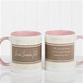Inspiring Lawyer Personalized Coffee Mug 11oz.- Pink - 10411-P