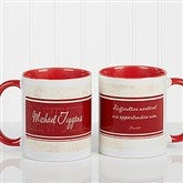 Inspiring Lawyer Personalized Coffee Mug 11oz.- Red - 10411-