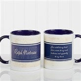 Inspiring Lawyer Personalized Coffee Mug 11oz.- Blue - 10411-BL