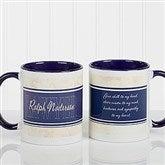 Inspiring Lawyer Personalized Coffee Mug 11oz.- Blue - 10411-BL