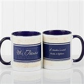 Inspiring Teacher Personalized Coffee Mug- 11oz.- Blue - 10412-BL