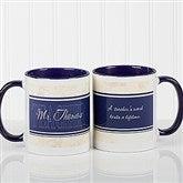 Inspiring Teacher Personalized Coffee Mug- 11oz.- Blue - 10412-BL