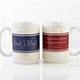 Name Your Career Personalized Coffee Mug 15 oz.- White - 10413-L