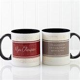 Name Your Career Personalized Coffee Mug 11oz.- Black - 10413-B