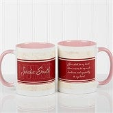 Name Your Career Personalized Coffee Mug 11oz.- Pink - 10413-P