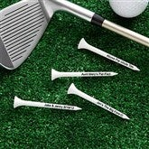Tee It Up! Personalized Golf Tees- White - 10501-W