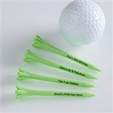 Tee It Up! Personalized Golf Tees- Green - 10501-G