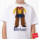 I Want To Be Personalized Hanes® Youth T-Shirt - 10506-YCT