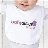 Big/Baby Brother & Sister Infant Bib - 10509-B