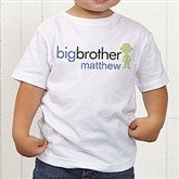Big/Baby Brother & Sister Toddler T-Shirt - 10509TT