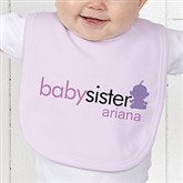 Big/Baby Brother & Sister Baby Bib - 10509-B
