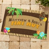 Tropical Paradise Personalized Doormat - 10546