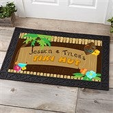 Tropical Paradise Personalized Doormat- 20x35 - 10546-M