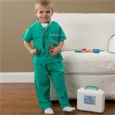 Lil' Doctor Personalized Kid's Scrub Set - 10547