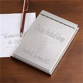 Medical Specialties Personalized Signature Flip Notepad - 10557