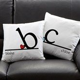 Heart Felt Personalized Keepsake Pillow - 10565